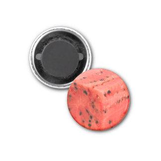 Imã Cubo vermelho doce fresco original da comida da