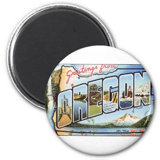 Imã Cumprimentos de Oregon