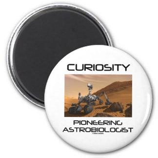 Imã Curiosidade que abre caminho o Astrobiologist