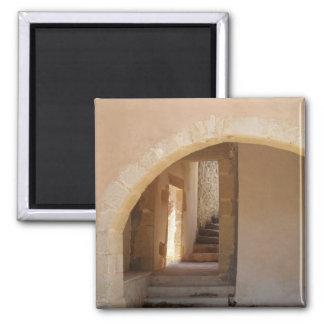 Ímã da arquitetura grega ímã quadrado