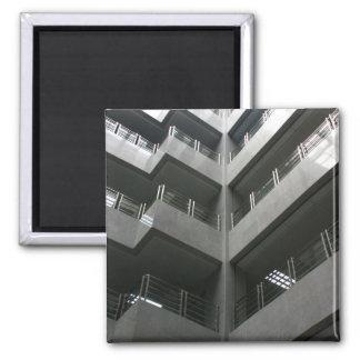 Ímã da arquitetura ímã quadrado