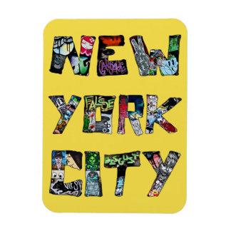 Ímã da arte da rua da Nova Iorque
