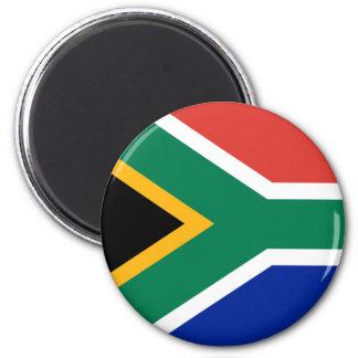 Ímã da bandeira de África do Sul Ímã Redondo 5.08cm