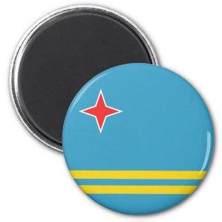 Ímã da bandeira de Aruba Ímã Redondo 5.08cm
