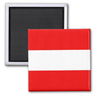 Ímã da bandeira de Áustria Ímã Quadrado