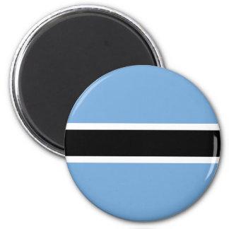 Ímã da bandeira de Botswana Ímã Redondo 5.08cm