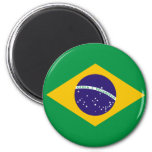 Ímã da bandeira de Brasil Ima