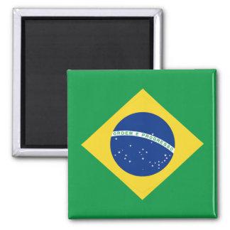 Ímã da bandeira de Brasil Ímã Quadrado