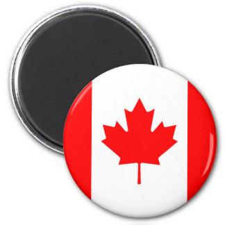 Ímã da bandeira de Canadá Ímã Redondo 5.08cm