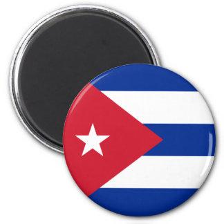 Ímã da bandeira de Cuba Ímã Redondo 5.08cm