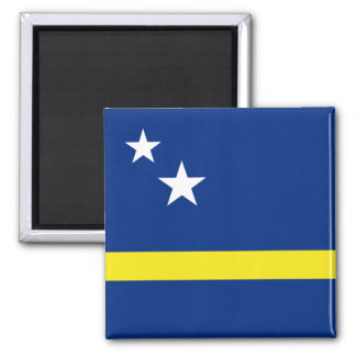 Ímã da bandeira de Curaçao Ímã Quadrado