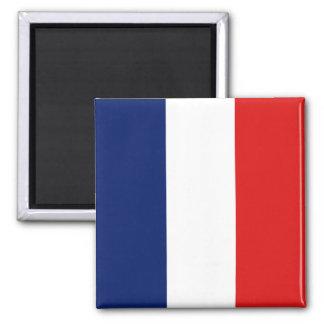 Ímã da bandeira de France Ímã Quadrado