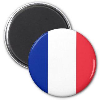 Ímã da bandeira de France Ímã Redondo 5.08cm