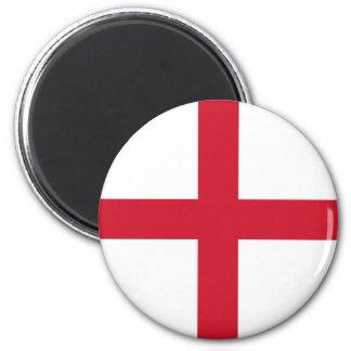 Ímã da bandeira de Inglaterra Ímã Redondo 5.08cm