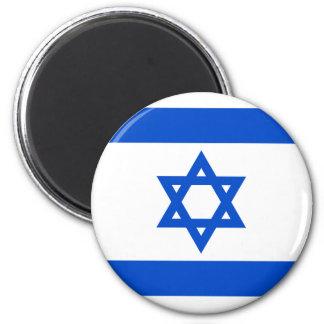 Ímã da bandeira de Israel Ímã Redondo 5.08cm