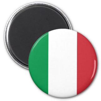 Ímã da bandeira de Italia Ímã Redondo 5.08cm