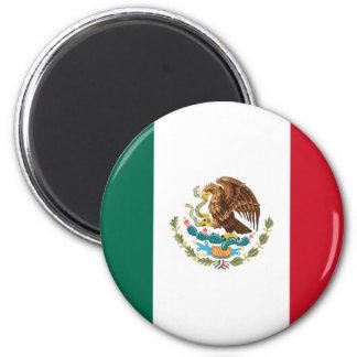 Ímã da bandeira de México Ímã Redondo 5.08cm