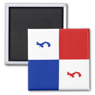 Ímã da bandeira de Panamá Ímã Quadrado