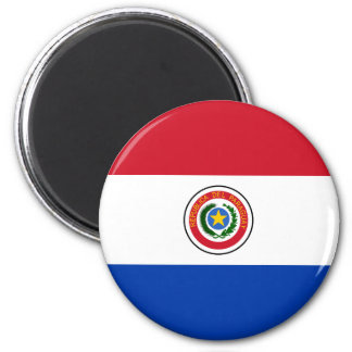 Ímã da bandeira de Paraguai Imãs De Refrigerador