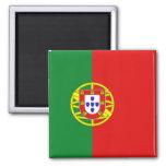 Ímã da bandeira de Portugal Ímã Quadrado