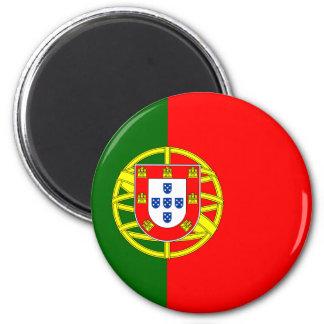 Ímã da bandeira de Portugal Ímã Redondo 5.08cm