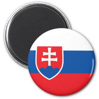 Ímã da bandeira de Slovakia Ímã Redondo 5.08cm
