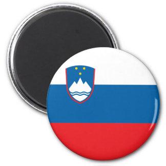 Ímã da bandeira de Slovenia Ímã Redondo 5.08cm