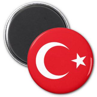 Ímã da bandeira de Turquia Ímã Redondo 5.08cm