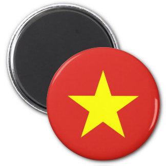 Ímã da bandeira de Vietnam Ímã Redondo 5.08cm
