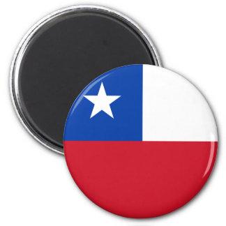Ímã da bandeira do Chile Ímã Redondo 5.08cm