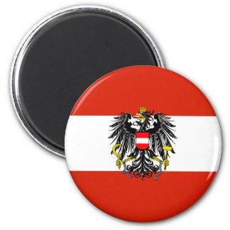 Ímã da bandeira do estado de Áustria Ímã Redondo 5.08cm