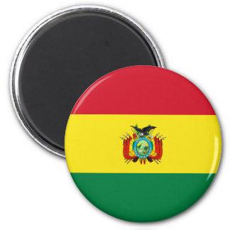 Ímã da bandeira do estado de Bolívia Ímã Redondo 5.08cm