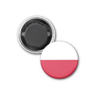 Ímã da bandeira do Polônia Ímã Redondo 2.54cm