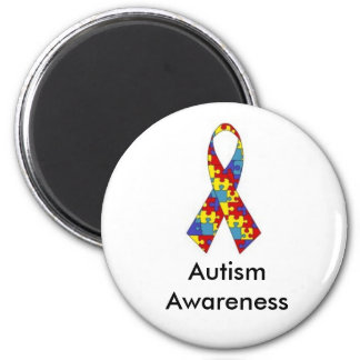 Ímã da consciência do autismo imãs de geladeira