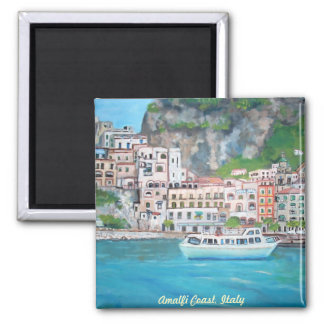 Ímã da costa de Amalfi Imãs De Geladeira