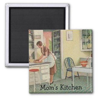 Ímã da cozinha da mãe imas de geladeira