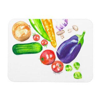 Ímã da cozinha do vegetariano do jardim