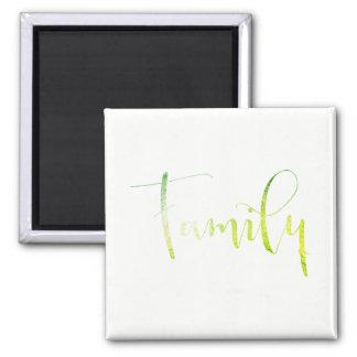 Imã Da família planeamento verde da casa do limão