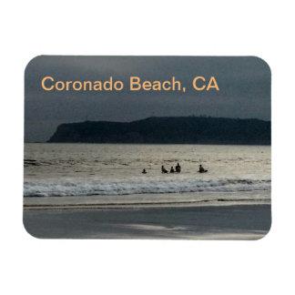 Ímã da foto de Califórnia da praia de Coronado