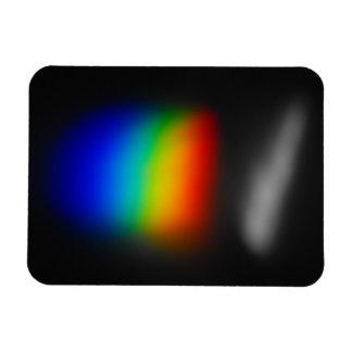 Ímã da foto do espectro do arco-íris