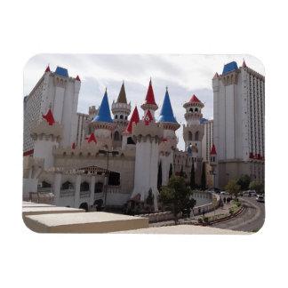 Ímã da foto do hotel & do casino de Excalibur