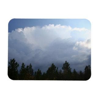 Ímã da foto do temporal da garganta do Spearfish