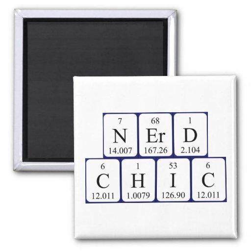 Ímã da frase da mesa periódica de NerdChic Imã