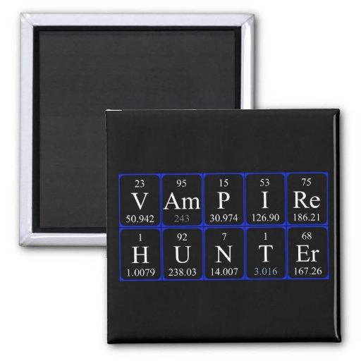 Ímã da frase da mesa periódica de VampireHunter Imã