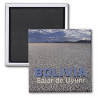 Ímã da lembrança do viagem de Salar de Uyuni Bolív Ímã Quadrado
