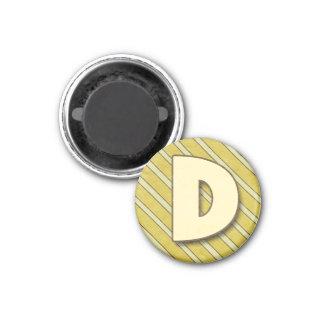 Ímã da letra D Ima