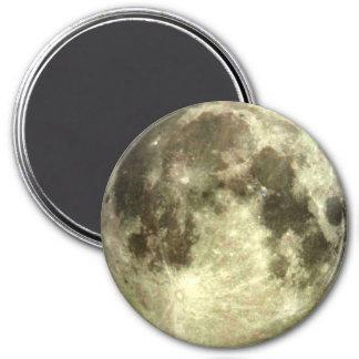 Ímã da Lua cheia Ímã Redondo 7.62cm