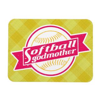 Ímã da madrinha do softball