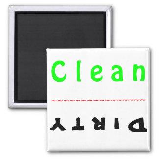 Ímã da máquina de lavar louça ímã quadrado