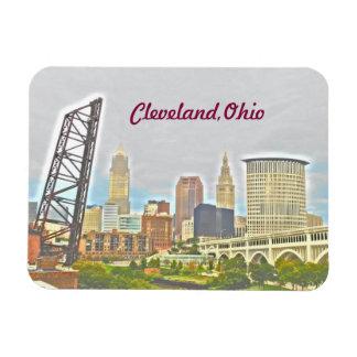 Ímã da opinião de Cleveland, o Rio Ohio